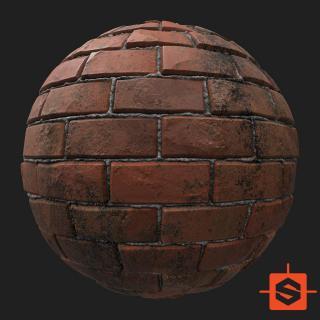 Wall Brick Substance Material