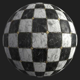 Marble Floor Tiles PBR #2