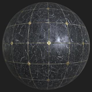 Marble Floor Tiles PBR #3