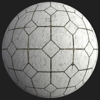 Marble Floor Tiles PBR #4