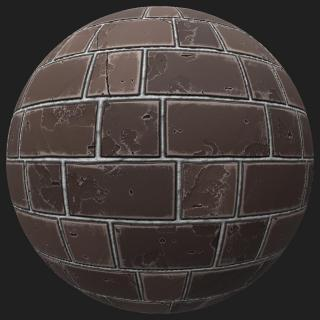 Wall Brick Old PBR