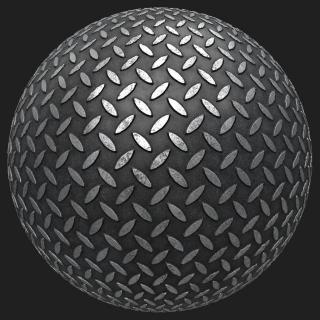 Metal Floor Industrial PBR
