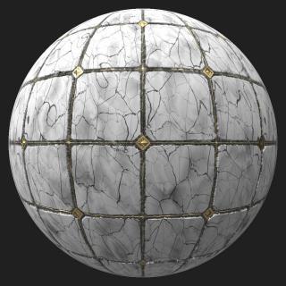 Marble Floor Tiles PBR #5