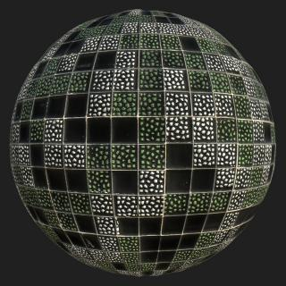 Mosaic Tile PBR Texture