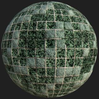 Mosaic Tile PBR Texture #3