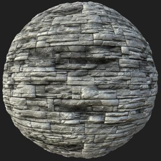 Stones Tile PBR Texture #2