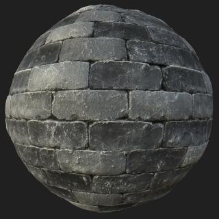 Wall Stone PBR Texture