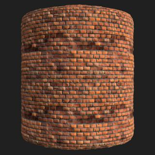 Wall Brick Old PBR Texture #5