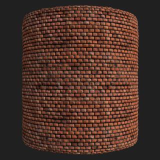 Wall Brick Old PBR Texture #6