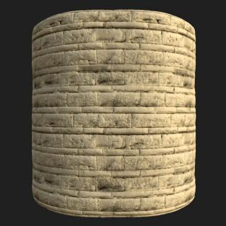 Wall Brick Decorative PBR Texture