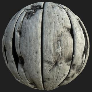 Wood Planks Old PBR Texture