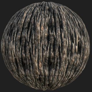 Tree Bark PBR Texture #8