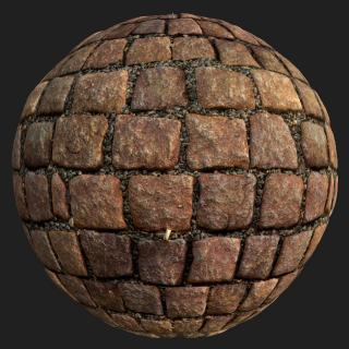 Floor Stones PBR Texture