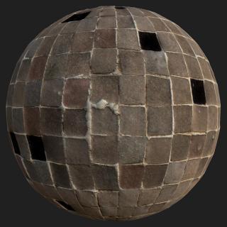 Floor Stones PBR Texture #2