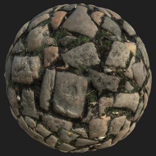Floor Stones PBR Texture #4
