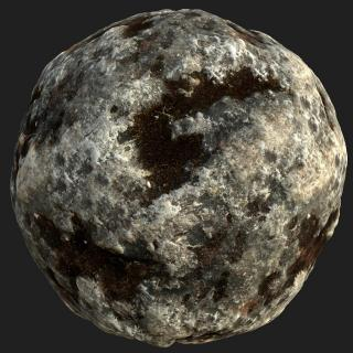 Rock PBR Texture #12