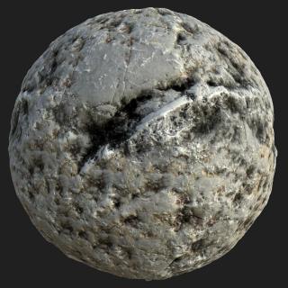Rock PBR Texture #18