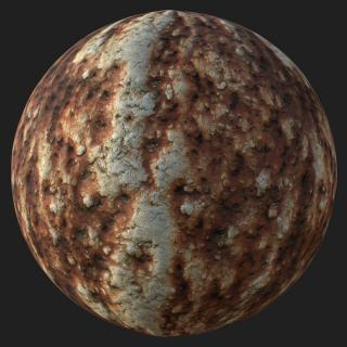 Metal Rusted PBR Texture #3