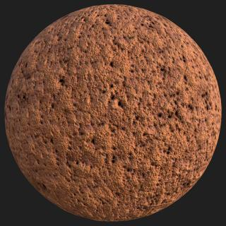 Metal Rusted PBR texture #7