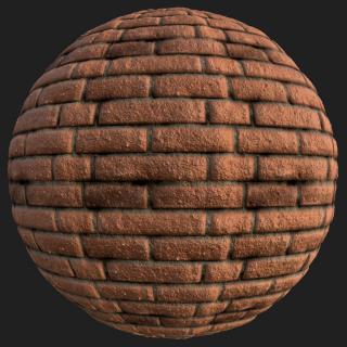 Wall Brick New PBR Texture