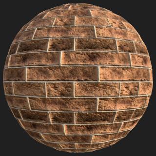 Wall Brick New PBR Texture #4