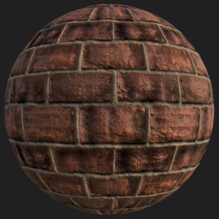 Wall Brick New PBR Texture #5
