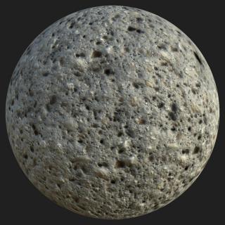 Concrete Bare PBR Texture