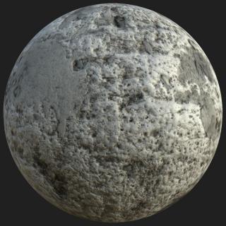 Concrete Dirty PBR Texture