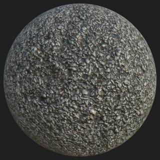 PBR Asphalt Texture