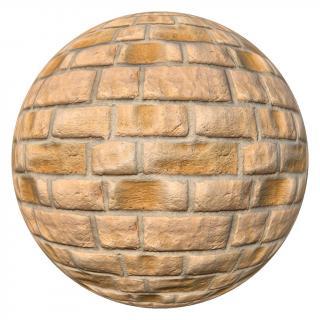 PBR Wall Brick Texture
